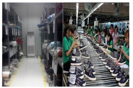 Chúng tôi tư vấn giải pháp chống ẩm hoàn hảo cho ngành da giầy tại Việt Nam