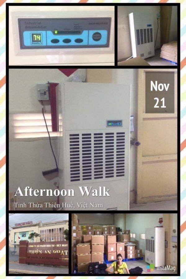 Tăng cường khả năng điều hòa độ ẩm cho hệ thống thông gió